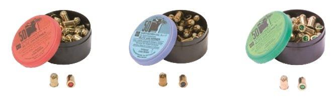 Patronen 9mm zu Blitz-Kerner 50Stk